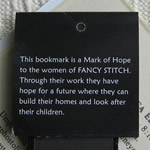 Rear of Bookmark