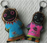 Doll Keyrings
