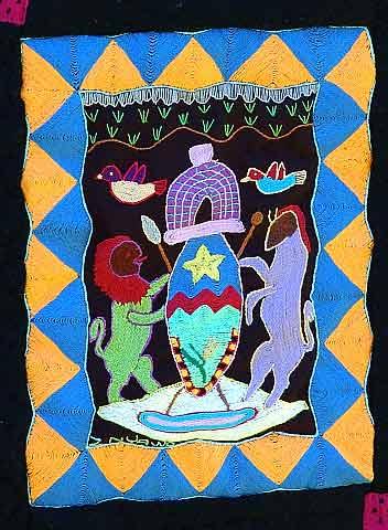 Heraldic work of Zandile Nyawo