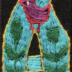 Fridge Magnet (small): 'A' Bird Inside