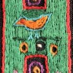 Fridge Magnet (small): Bird in the 'H'