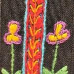 Fridge Magnet (small): 'I' Love flowers
