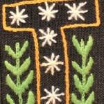 Fridge Magnet (small): Starry 'I'