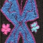 Fridge Magnet (small): The 'X' Butterfly