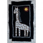 Greeting Card: The Pale Giraffe