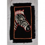 Greeting Card: Zebra Portrait