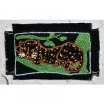 Greeting Card: A Resting Leopard