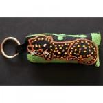 Keyring: A Resting Leopard