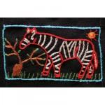 Mini Tapestry: The Zebra