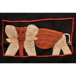 Mini Tapestry: An African Elephant