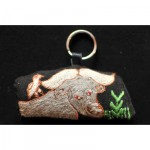 Keyring: Cape Buffalo