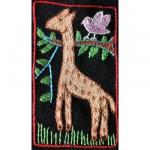 Mini Tapestry: A Giraffe