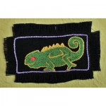 Greeting Card: Green Chameleon