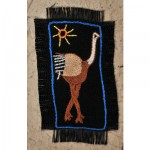 Greeting Card: Proud Ostrich