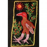 Mini Tapestry: Eagle