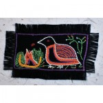 Greeting Card: Forest Quail and Chick