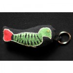Keyring: Red Tail Forest Dove