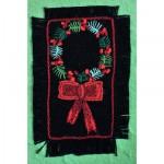 Greeting Card: Single Holly Wreath