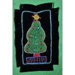 Greeting Card: Bulbous Christmas Tree