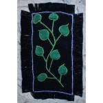 Greeting Card: Green Leaves