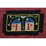 Greeting Card: Twin Cottages