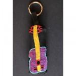 Keyring: Purple Guitar