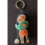 Keyring: Soccer Flair