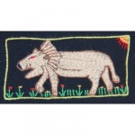 Mini Tapestry: The Lion of Africa