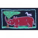 Keyring: Red Rhinoceros